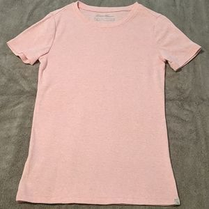 Pink cotton tee